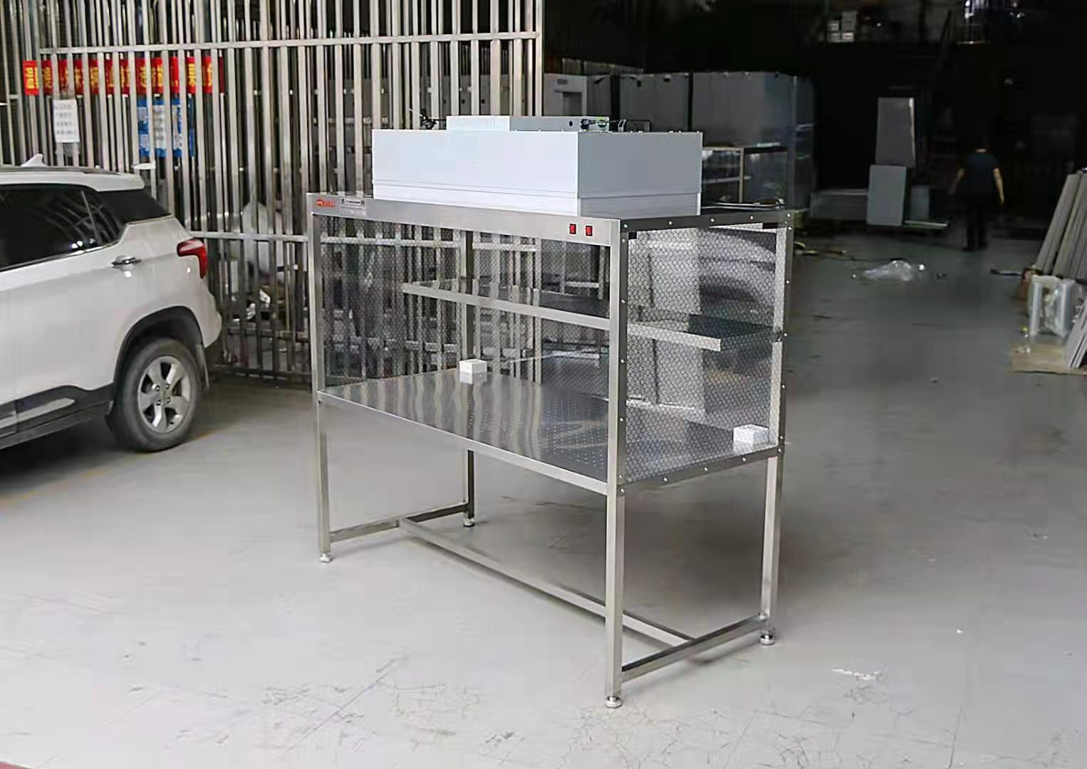 定制无尘车间净化工作台测试洁净棚