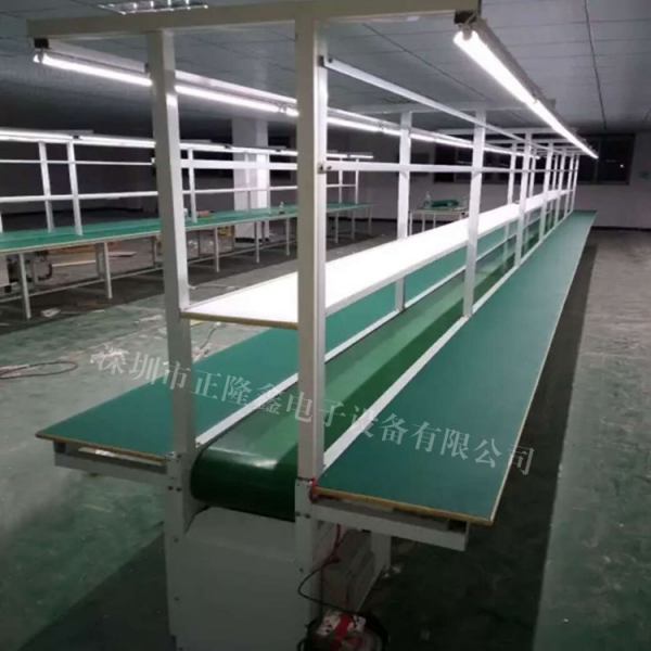 电子厂喇叭生产流水线