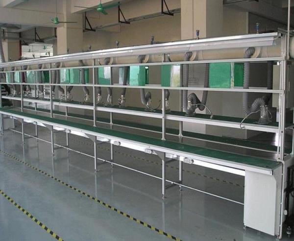 车间装配生产线