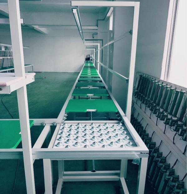 电器厂手推组装流水线