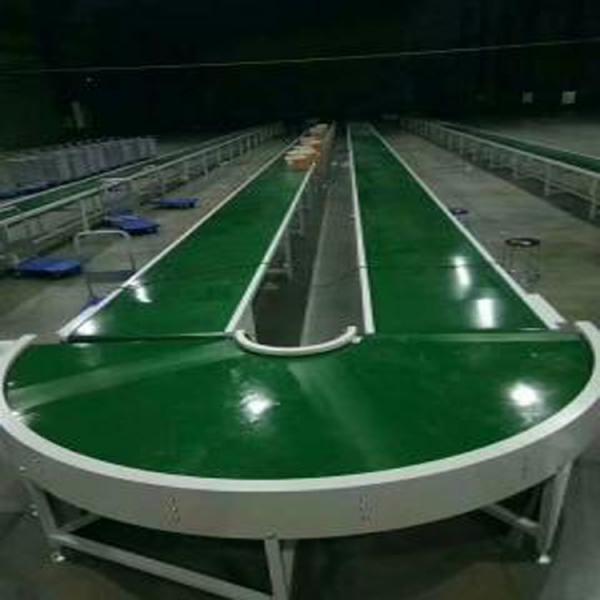 广州PVC带式输送线厂家