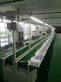 喇叭厂生产流水线