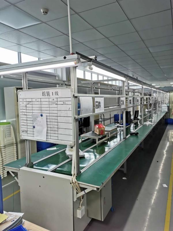 广州广东二手铝合金双皮带流水线 生产装配线