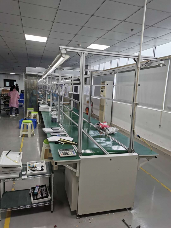 广州20米的铝型材二手生产流水线出售