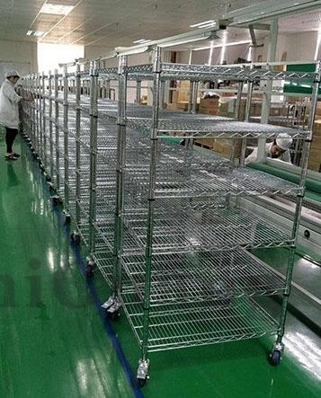 广州不锈钢网货架厂家