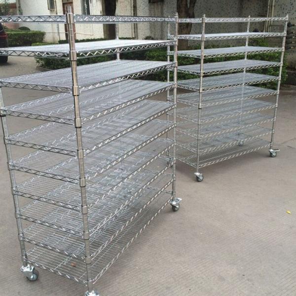 广州移动不锈钢网货架