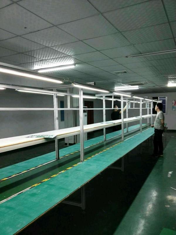 转让3条14米二手铝合金流水线,包送货安装