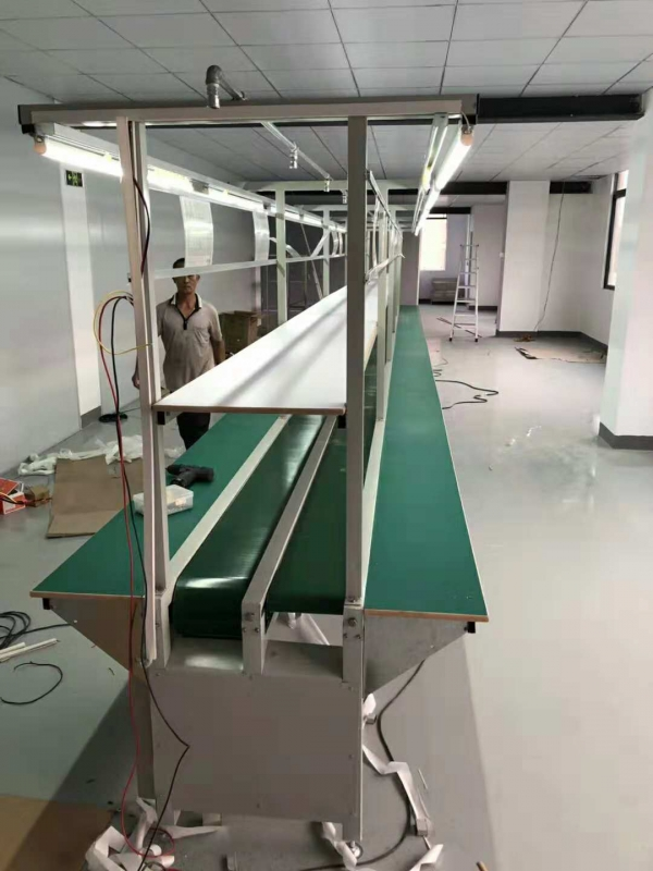 江苏电子厂生产线皮带流水线