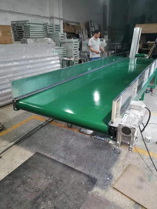 东莞工厂产品加工生产线泡沫碾碎输送线电子厂流水线