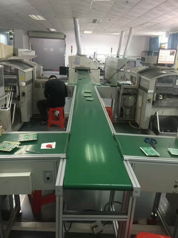 惠州车间流水线皮带传送线注塑机流水线