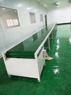 PVC皮带输送线工厂流水线