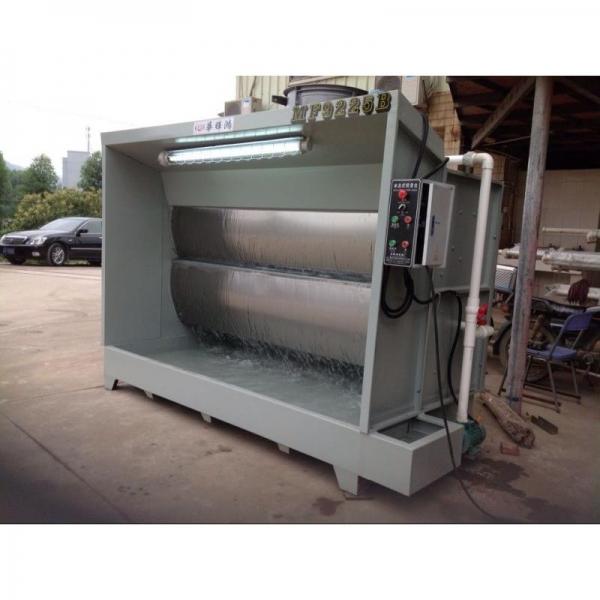 环保型水帘柜小型喷漆柜单双工位水帘柜